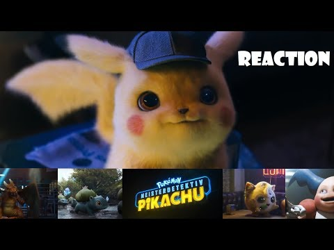 Pokémon Detective Pikachu 2019 - Movie Trailer [German]