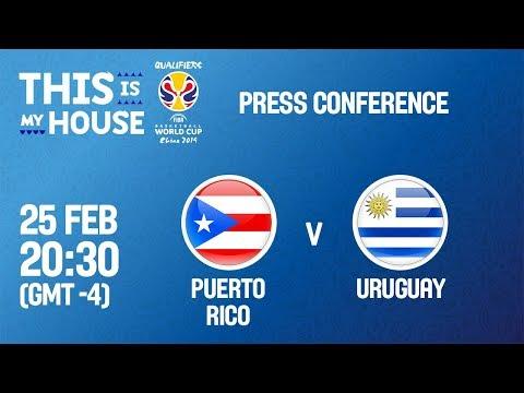Puerto Rico v Uruguay - Press Conference