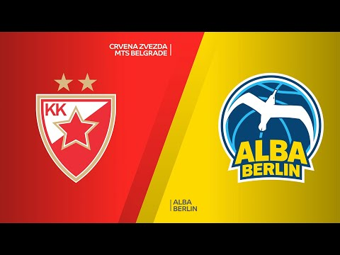 Crvena Zvezda mts Belgrade - ALBA Berlin Highlights | Turkish Airlines EuroLeague, RS Round 14