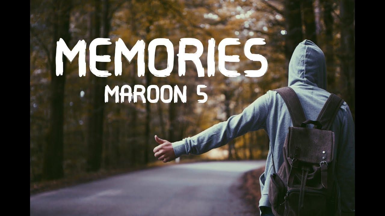 Memories - Maroon 5 (LYRICS) - YouTube
