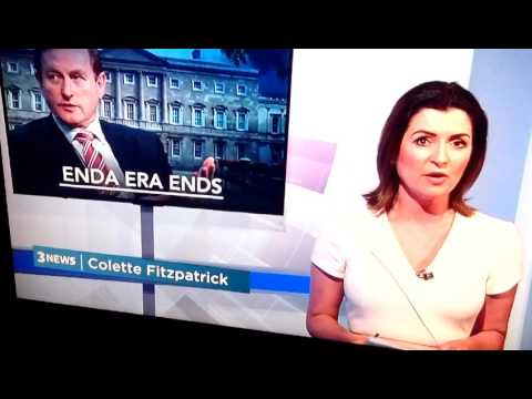 Enda Kenny steps down 17/05/17