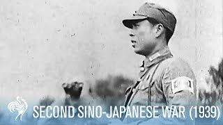 Chinese Japanese War Footage - 1939