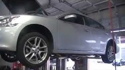 How to change the oil on a 2012 Nissan Maxima V6 3.5