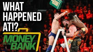 WHAT HAPPENED AT: WWE Money In The Bank 2018