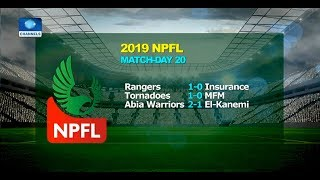 Rangers Seal Super 6 Spot With 1-0 Win Over Insurance 15/05/19 Pt.4 |News@10|