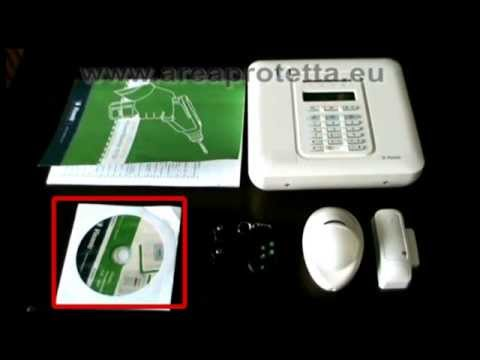 Installazione kit allarme di casa wireless visonic fai da for Case di kit vittoriano