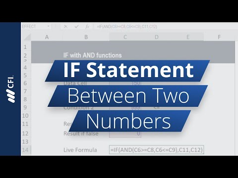 IF Statement Between Two Numbers - YouTube