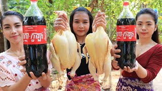 How to cooking chicken roasted with coca-cola recipe