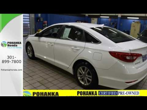 Used 2015 hyundai sonata washington dc honda dealer md for Washington dc honda dealers