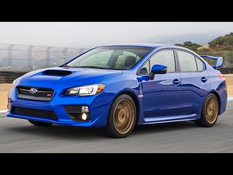 2015 Subaru WRX STI Hot Lap! - 2014 Best Driver's Car Contender