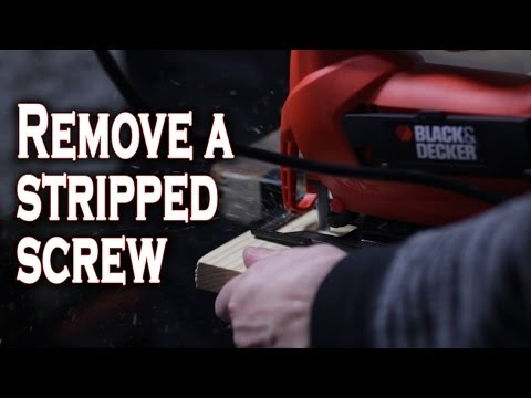 5 Ways to Remove Stripped Screws.