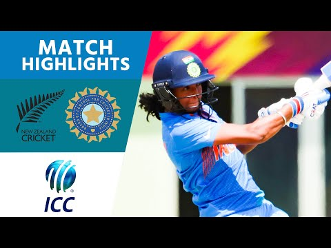 New Zealand v India - ICC Womens World T20 2018 highlights
