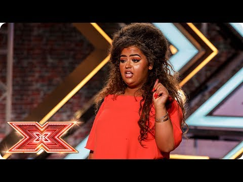 Can X Factor fan Scarlett Lee Rise Up to the challenge?   Auditions Week 4   The X Factor 2017