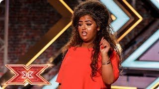 Can X Factor fan Scarlett Lee Rise Up to the challenge? | Auditions Week 4 | The X Factor 2017