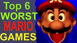 Top 6 Worst Mario Games