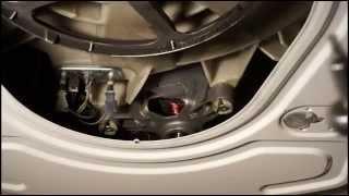 Как снять двигатель стиральной машины Бош. Видео №29