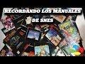 Recordando los manuales de SNES