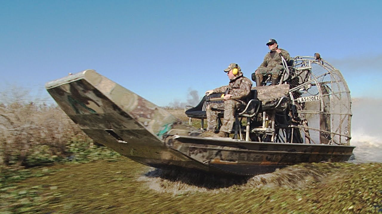 Image result for airboat hunting
