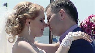 Свадебная прогулка. Свадебный клип. Жених и невеста Василий и Екатерина. Николаев.