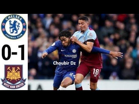 Chelsea vs. West Ham United - Football Match Report - November ...