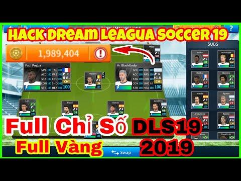 dream league soccer 2019 hack full chỉ số - Cách hack dream league soccer 2019 full vàng - full chỉ số các cầu thủ