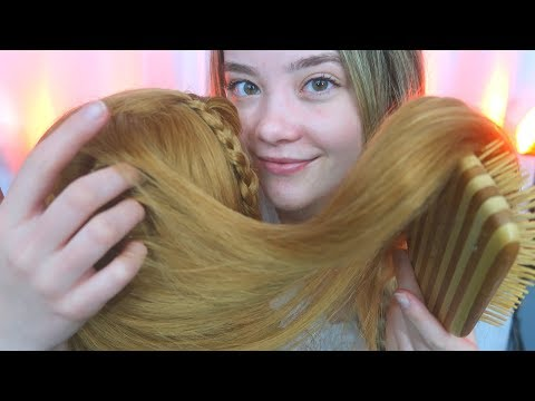 ASMR SCALP EXAM, MASSAGE & HAIR PLAY! Relaxing Roleplay, Combing, Whispering, Braiding