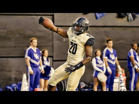the latest c39e4 6c5e1 Oren Burks Vanderbilt 2017 Season Highlights ᴴᴰ ||