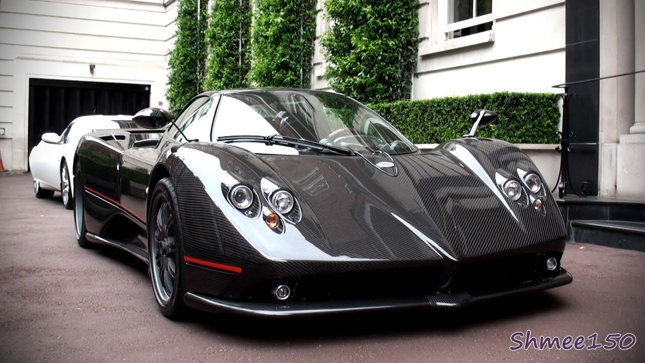 pagani zonda f clubsport roadster startups huge revs in depth tour youtube. Black Bedroom Furniture Sets. Home Design Ideas