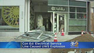Con Ed Identifies Cause Of Manhattan Explosion
