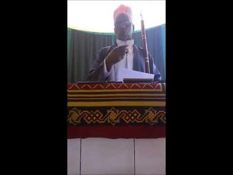 Cheikh Ahmad Bah - Fii Jibineede Nene Fatima Zahra A.s (kutuba 09-03-2018)