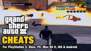 GTA 3 Cheats