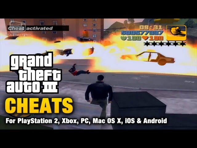code cheat gta 3 ps2