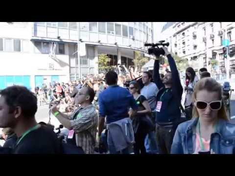 Belgrade Pride Parade (Raw footage / PAL Re-Compressed)