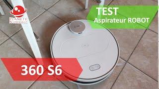 Test Aspirateur Robot 360 S6, Mieux que le Xiaomi Roborock S50 ?