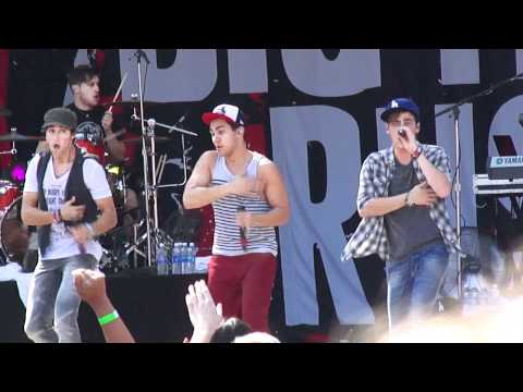 Big Time Rush Fresno Fair Nothing Even Matters  10811