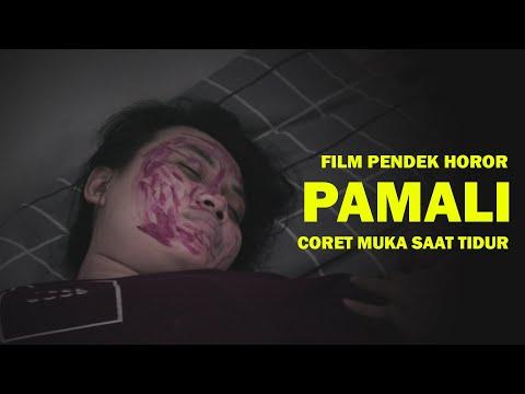 PAMALI!!! Coret Muka Saat Tidur - Short Movie Horor Indonesia