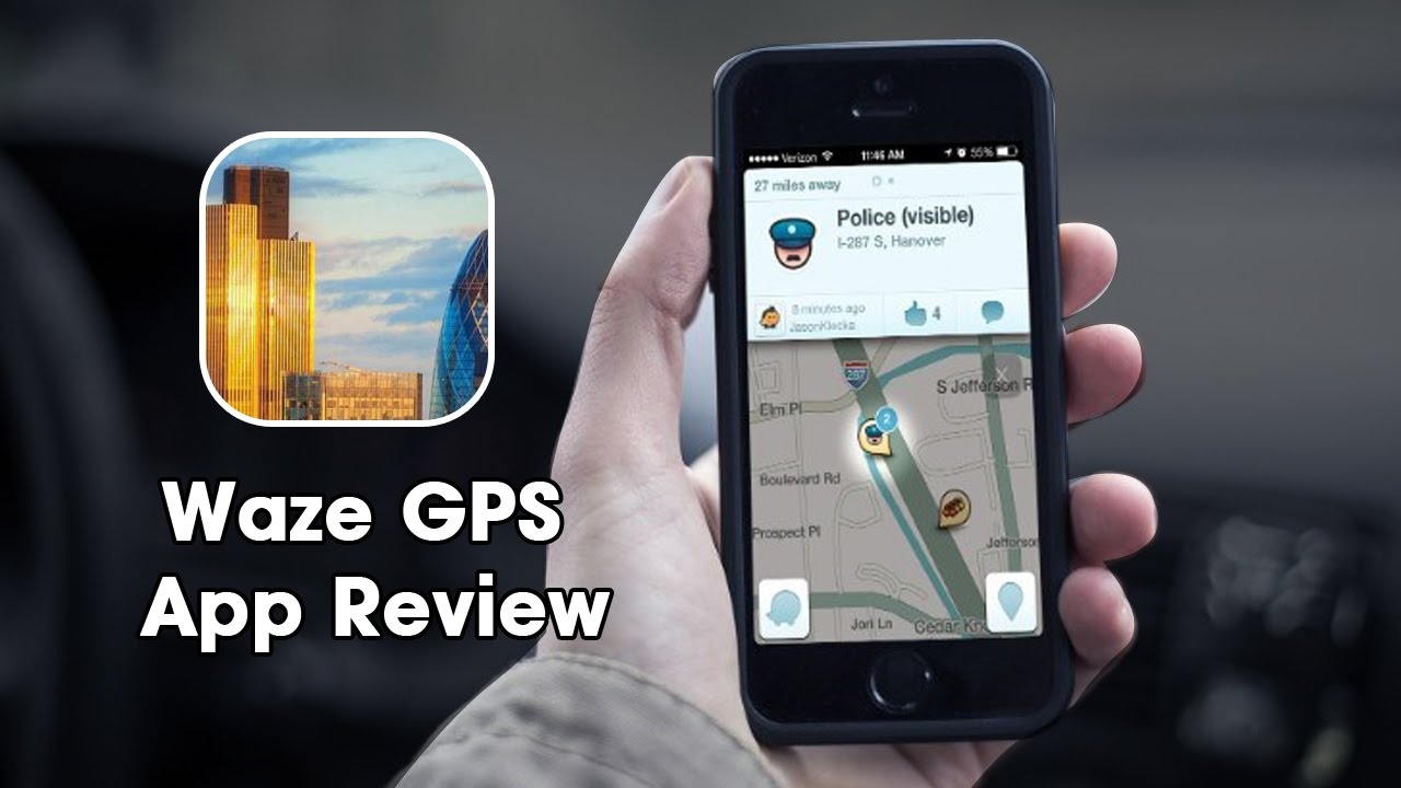 Waze - GPS, Maps & Traffic - Review and Tutorial