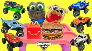 Puppy Dog Pals Get Monster Jam McDonald's Happy Meal TruckToys 2019