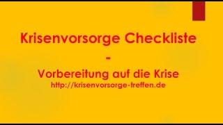 Krisenvorsorge Checkliste - krisenvorsorge-treffen.de