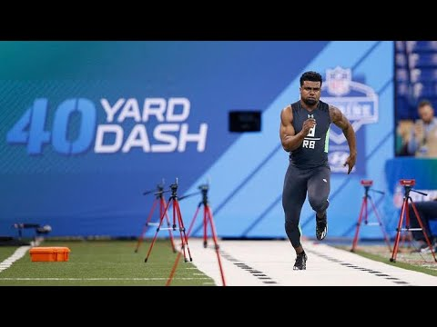 Top 6 Fastest 40 Yard-Dashes