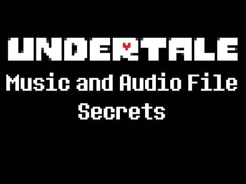 Undertale - Music and Audio File Secrets
