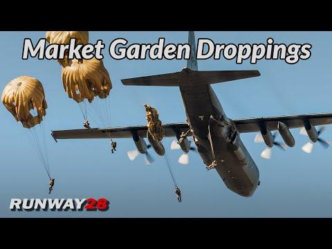 Market Garden 2019; Dropping Paratroopers   Ginkelse Heide, Netherlands   RNLAF [4KHD]