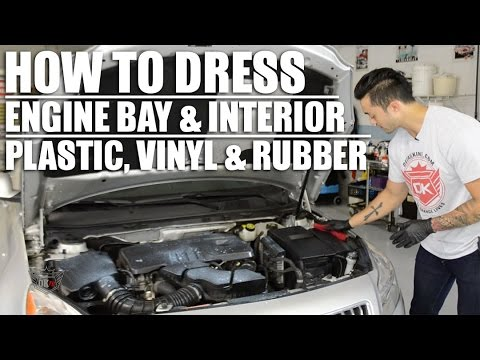 How to Dress Your Engine and Interior Plastics
