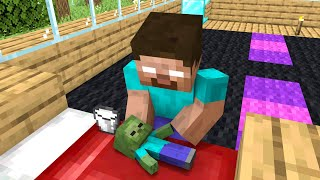 Monster School : Poor Baby Zombie - Minecraft Animation
