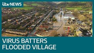 Flood-hit West Yorkshire village of Mytholmroyd given coronavirus sucker punch  | ITV News