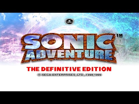 Sonic Adventure Game Movie (The Definitive Edition!) (all cutscenes) (chronological order) HD 1080p