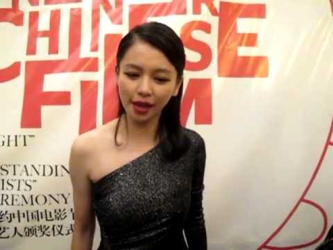 Vivian Hsu 徐若瑄 Say Hi to all AsianInNY Friends