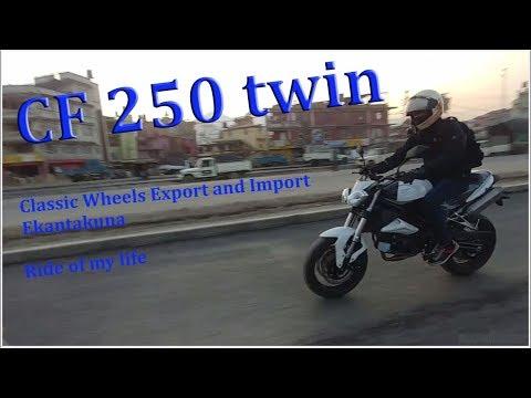 CF250 twin at Classic Wheels Export and Import, Ekantakuna, Ride Of My Life