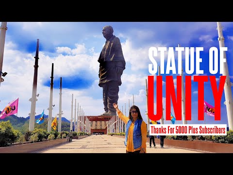 Statue Of Unity: Tallest Statue In The World | 182 meters tall Sardar Patel Statue