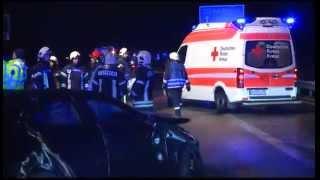 03.01.2015: Unfall nach Graupelschauer auf A20: Eine Tote, vier Schwerverletzte